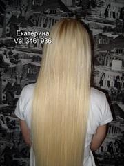 наращивание волос недорого,  славянские волосы