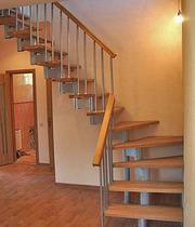 Модульные лестницы на второй этаж для коттеджа.