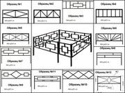 Ритуальные ограды изготавливаются и профильной трубы
