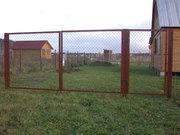 Ворота,  калитки,  секции для заборов  с  доставкой