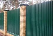 Крашенный и оцинкованный профлист С8 и C21 для строительсва в Полоцке