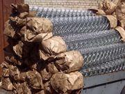 Оцинкованная сетка рабица от производителя в Полоцке